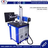 Легкий лазер СО2 деятельности высекая машину маркировки для PU кожи деревянного
