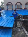 Überzogener Plastik gewelltes hitzebeständiges Belüftung-Dach-Blatt färben