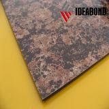 内部か外壁のクラッディング(AE-501)のためのPE/PVDFのコーティングの石の一見のアルミニウム合成のパネル