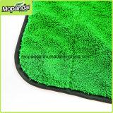 Rodo de borracha do silicone para a limpeza do carro com a escova do canto de toalha de Microfiber