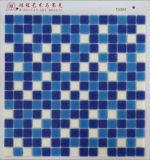 Precio barato 4USD del mosaico de cristal azul del PUNTO por el M2