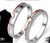 925 de echte Zilveren Ring van Engaement van Juwelen