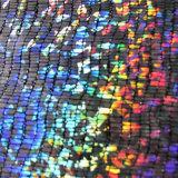 Película quente holográfica cromática da folha de carimbo para o pano/plástico/matéria têxtil