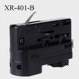 O adaptador da trilha do diodo emissor de luz para coneta lâmpadas ou dispositivos à trilha da iluminação (XR-401)