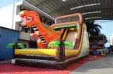 屋外の運動場の主題党のための膨脹可能な恐竜のスライド