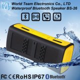 Bluetooth portable sin hilos mini IP67 impermeabiliza el altavoz