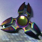 Garra do trevo do girador da inquietação da mão dos brinquedos do dedo de Torqbar colorida