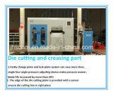 Máquina cortando automática para o grande tamanho