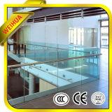 Gli occhiali di protezione che recintano/hanno temperato il vetro laminato per recintare di /Glass della rete fissa del raggruppamento