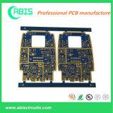 Tweezijdige PCB met het Goud van de Onderdompeling eindigen