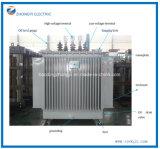 Dyn11 Yyn0 저가 철심 기름 유형 변압기 전력 변압기 S11-, Mrl 1000kVA 11kv