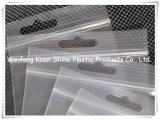 Plastiknahrungsmittelgrad-Griff-Dichtungs-Reißverschluss-Verschluss-Beutel