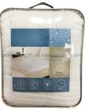 防水マットレスパッドをキルトにするジャカード織り方