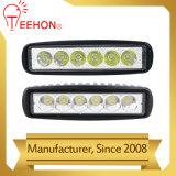 6 pulgadas 18W luz de trabajo LED