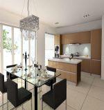 Weiße moderne hölzerne Küche-Möbel (AGK-011)