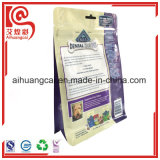 Bolso Ziplock plástico del alimento del papel de aluminio para los animales domésticos