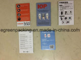 Producto de limpieza de discos de encargo de la etiqueta engomada de Microfiber para el teléfono/la pantalla