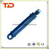 Cilindro do petróleo do conjunto do cilindro hidráulico do cilindro do crescimento de Doosan Dh130-7 para peças sobresselentes do cilindro da máquina escavadora da esteira rolante