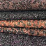Couro impresso leopardo de 2016 formas para bolsas, sapatas (E6057)