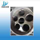 Carcaça de filtro elevada do saco da taxa de fluxo do aço inoxidável multi