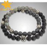 Bracelete cru clássico das pedras SMB-16120212 Semi preciosas