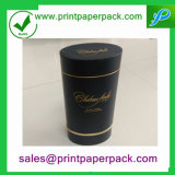 Rundes Gefäß-Luxuxwein-Kasten-Tee-Kasten-Verpackungs-Papierkasten-Geschenk-Kasten