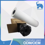 Papier estampé de transfert thermique de roulis de sublimation de bonne qualité de prix bas