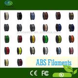 Le filament 1.75 de PLA de filament de l'impression 3D de PLA le plus chaud 3.0mm avec 39 couleurs procurables