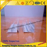 Glissement du profil en aluminium de longeron du bâti de portes de cabinet
