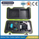 Pantalla de fibra óptica del LCD de la máquina de la encoladora de la fusión del cable