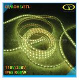 Lumière de corde de SMD5050 IP65 DEL avec l'homologation d'ETL