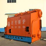 Caldaia a vapore Chain orizzontale della griglia del Doppio-Timpano industriale di Szl10-1.0MPa
