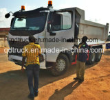 Volquete usado buenas condiciones 6X4 del carro de vaciado de las ruedas de HOWO 10 para África