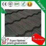 Telha de telhado de pedra por atacado do metal do revestimento feita em China