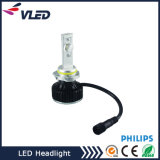 H4 H7 H11 LED Car Light Headlight Auto Head Lamp avec objectif de projecteur Partie de corps de moto