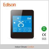 Термостат регулятора комнатной температуры экрана касания LCD для системы катушки вентилятора AC (TX-928)