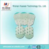 Limpeza transparente da fixação da cânula IV facilmente da película removível autoadesiva médica do plutônio