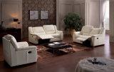 Tapicería de alta calidad muebles para la sala reclinable Sofá