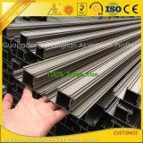 Neuester Aluminiumaluminiumstrangpresßling 2016 für Zwischenwand-Aufbau