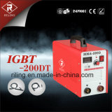 플라스틱 상자 (IGBT-160DT/200DT)를 가진 MMA IGBT 용접 기계