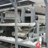Prensa de filtro automática de membrana de la junta con el transportador de correa