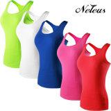 Neleusの女性は適性のヨガの衣類のスポーツ・ウェアNt0004を乾燥する