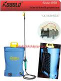 16L 재충전용 전기 스프레이어, Iaphram 펌프 12V 건전지 스프레이어