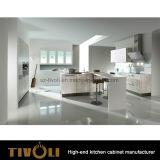 Armadio da cucina mezzo della pittura di lucentezza con illuminazione Tivo-0173h