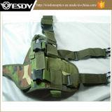 Регулируемый тактический воинский Nylon Acu кобуры пистолета ноги падения