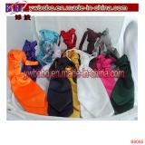 Festa nuziale elastica della cravatta del legame del collo del raso normale solido dei capretti dei ragazzi dei bambini (B8062)
