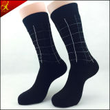 Носки высокого качества черные для типа джентльмена