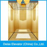Ascenseur à la maison résidentiel de machine de passager sûr de pièce avec la porte opposée