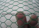 電流を通された家禽の網