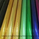 Фольга печатание перехода штемпелюя для упаковки тканья пластичной бумажной